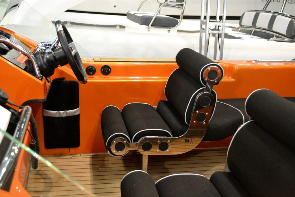 Sams Canvas Fully Custom Boat Seating